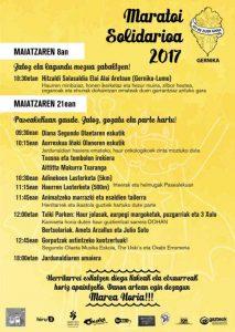 maratoi zolidarioa 2017
